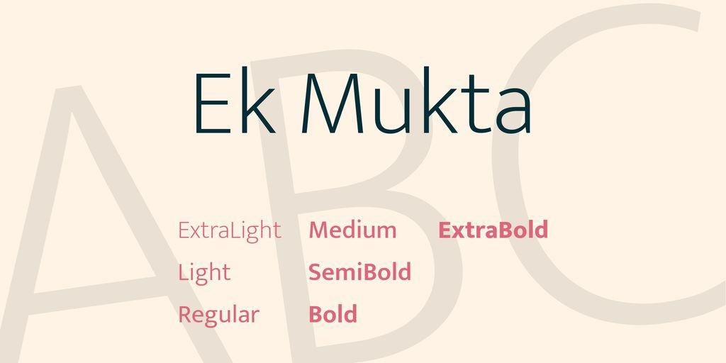 ek-mukta-font