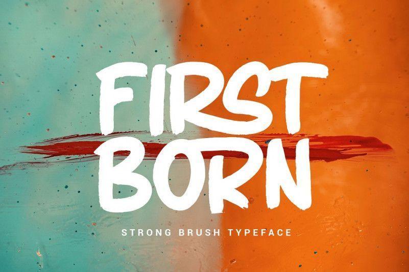firstborn-font