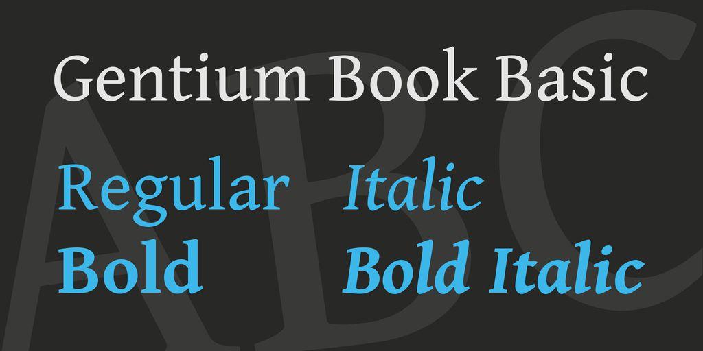 gentium-book-basic-font