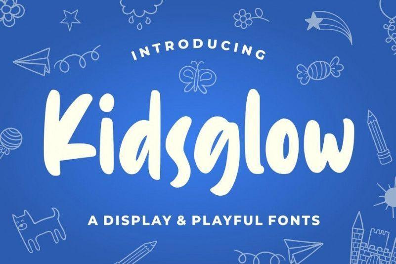 kidsglow-font