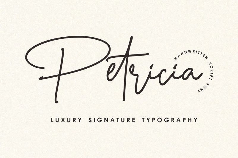 petricia-signature-font-1