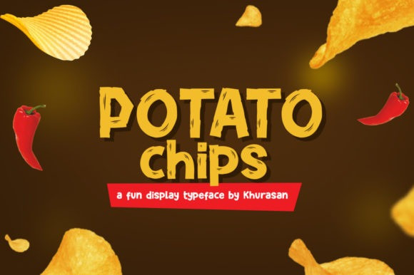 Potato Chips Font