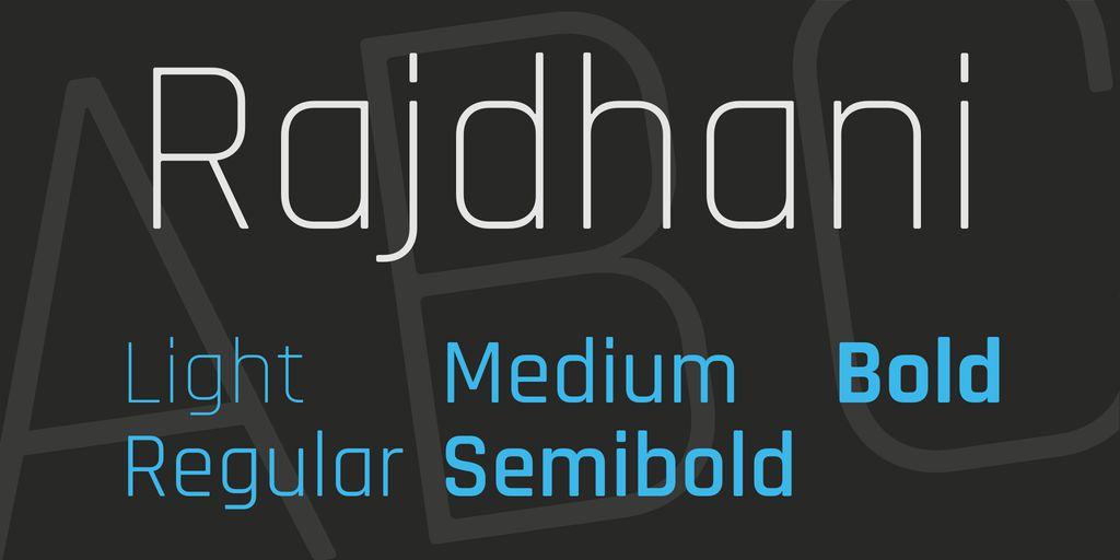 rajdhani-font