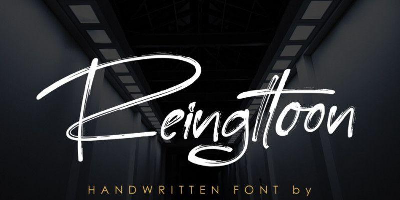 reingttoon-font-1