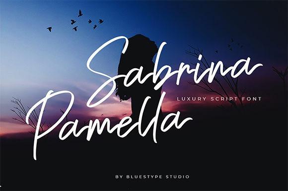 sabrina-pamella-font