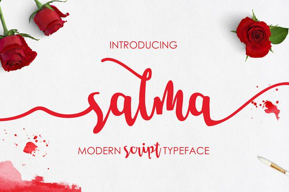 Salma Script Font