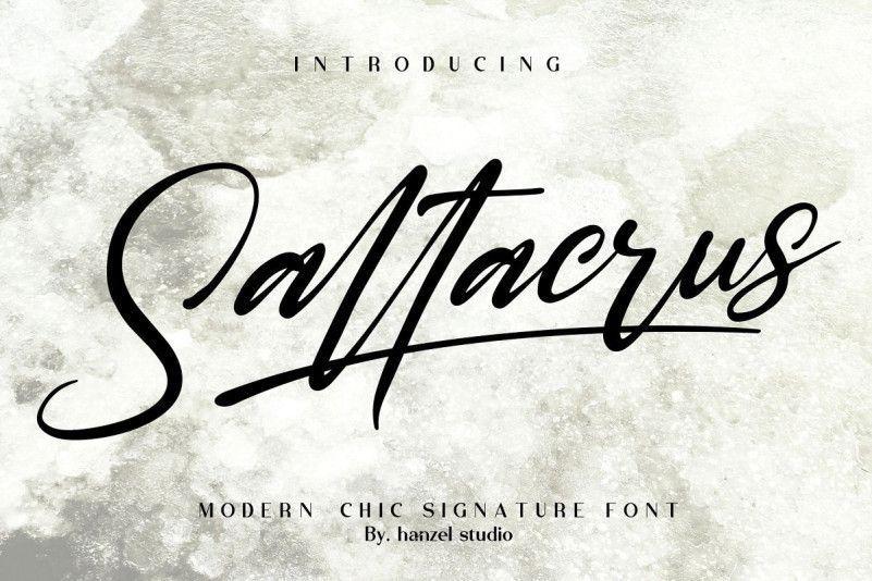 saltacrus-script-font