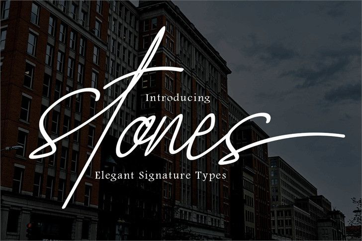 stones-signature-font