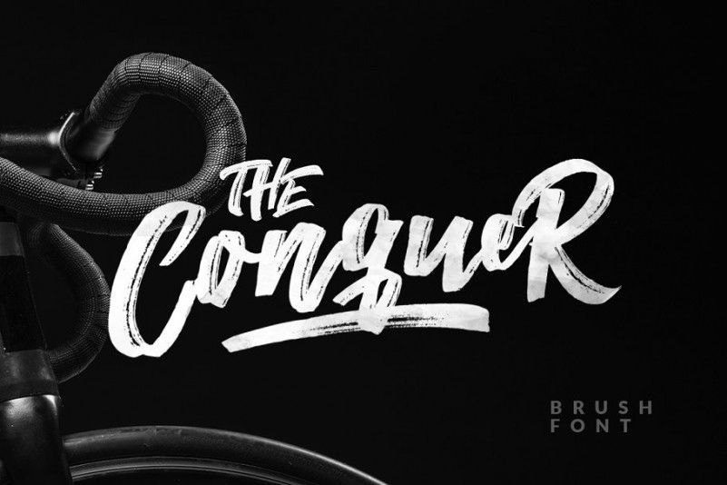 the-conquer-brush-font