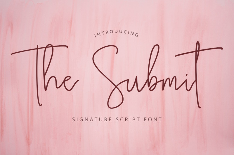 the-submit-font