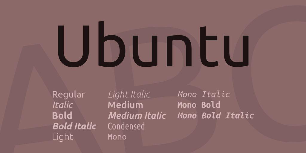 ubuntu-font