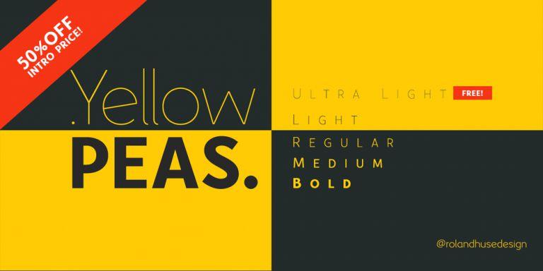 yellow-peas-font-family