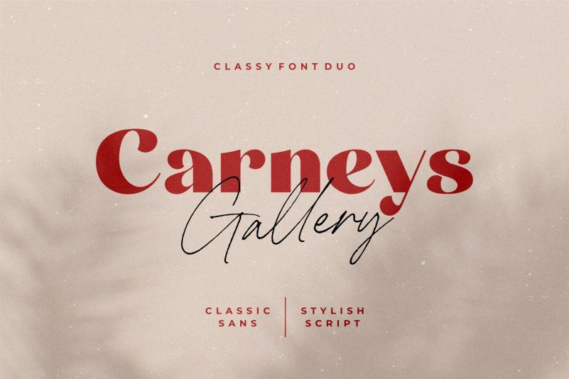 Carneys-Gallery-Font-Duo
