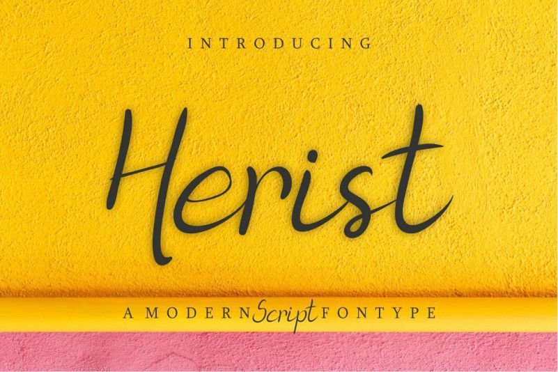 Herist-Calligraphy-Font