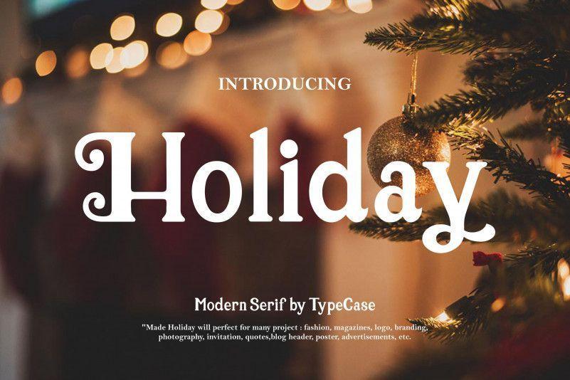 Holiday-Font