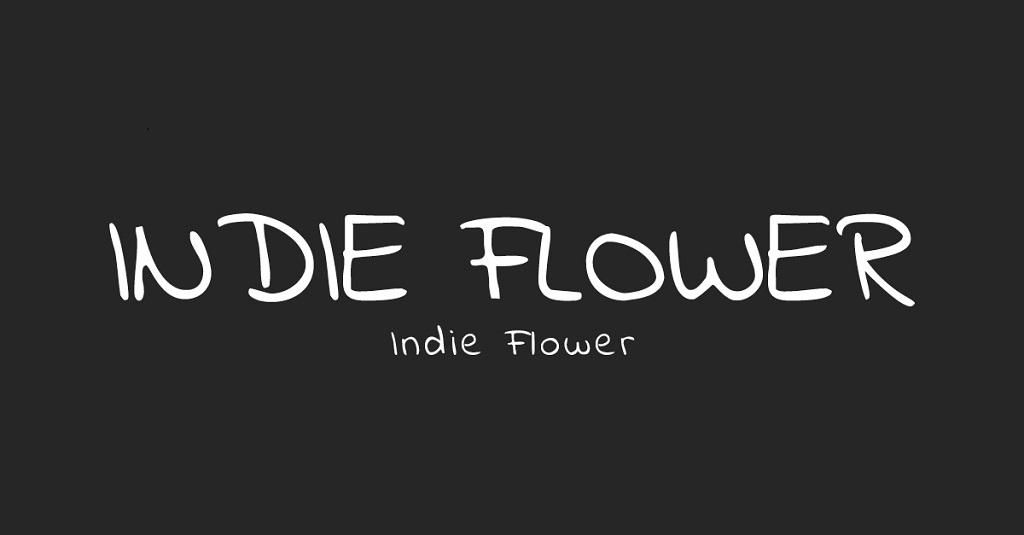 Indie-Flower-font