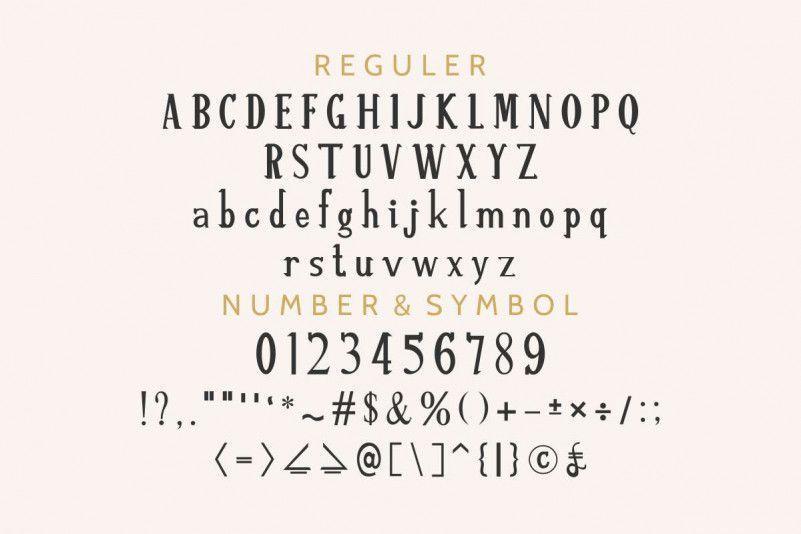 Re%u2019shawn-Vintage-Font-2