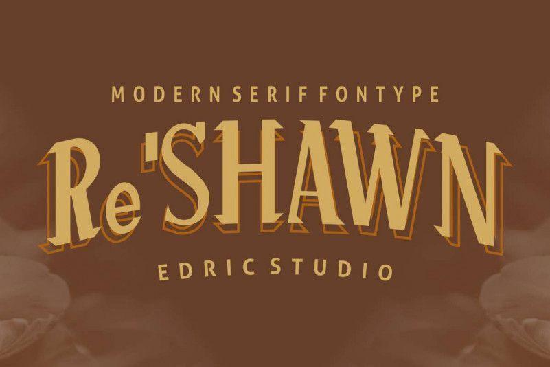 Re%u2019shawn-Vintage-Font