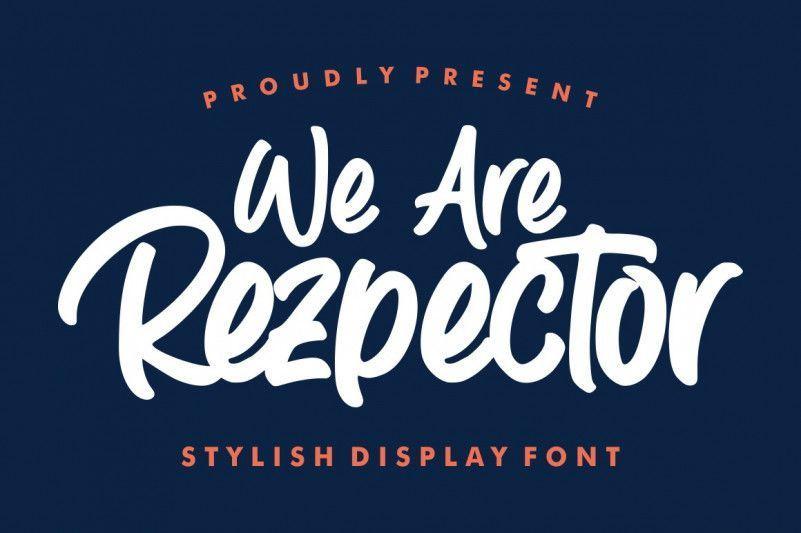 Rezpector-Font