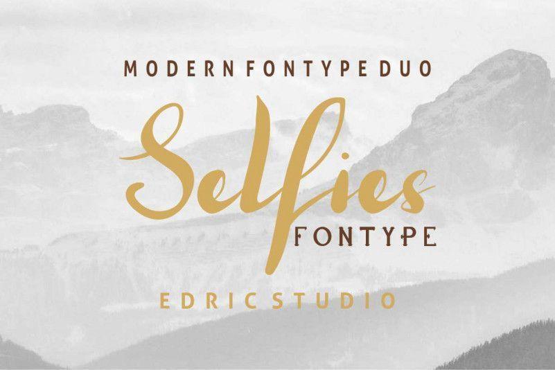 Selfies-Font-Duo