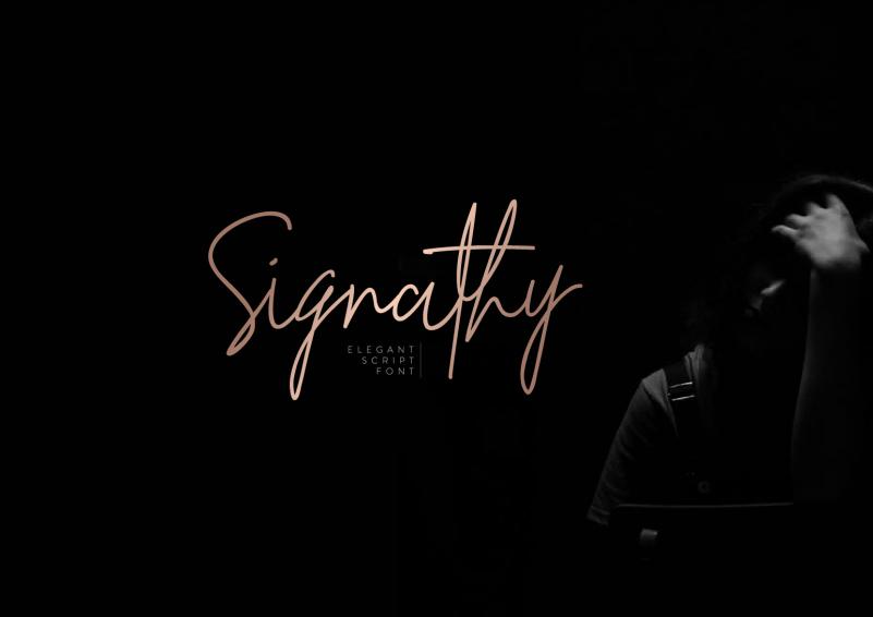 Signathy-Signature-Font