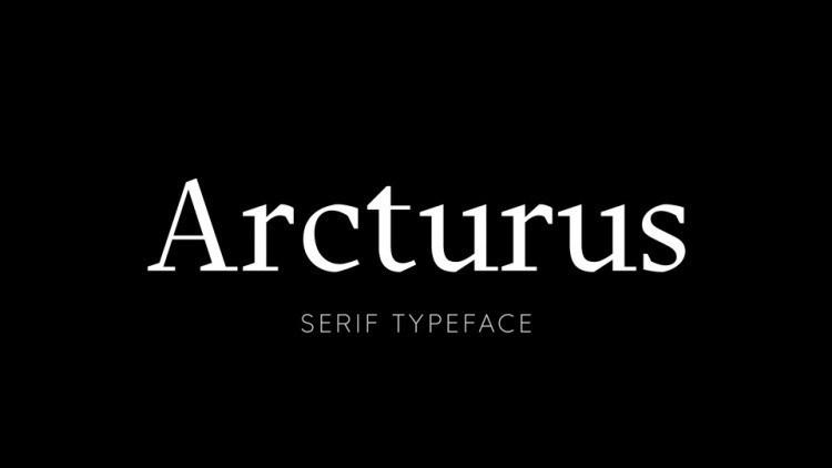 arcturus-font