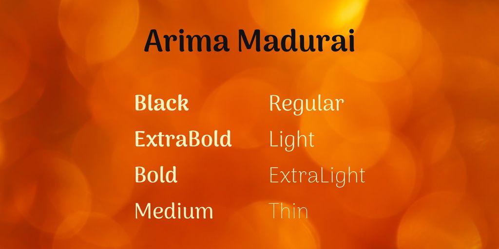arima-madurai-font