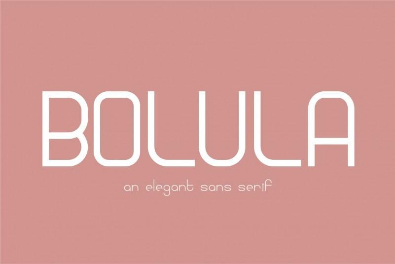 bolula-sans-serif-font