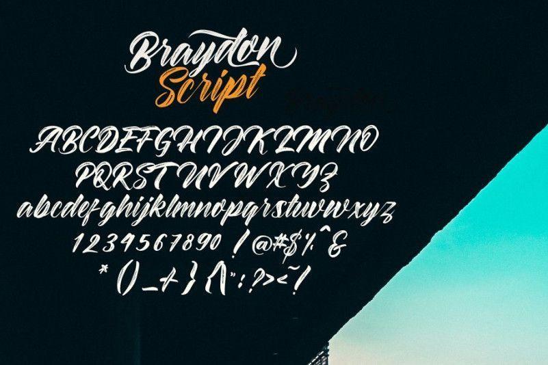 braydon-script-font-2