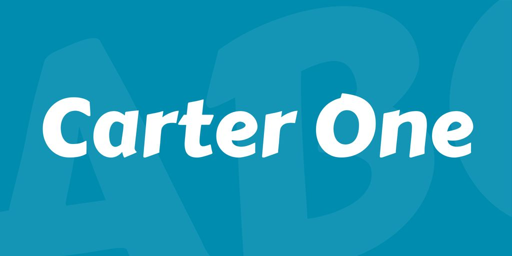 carter-one-font