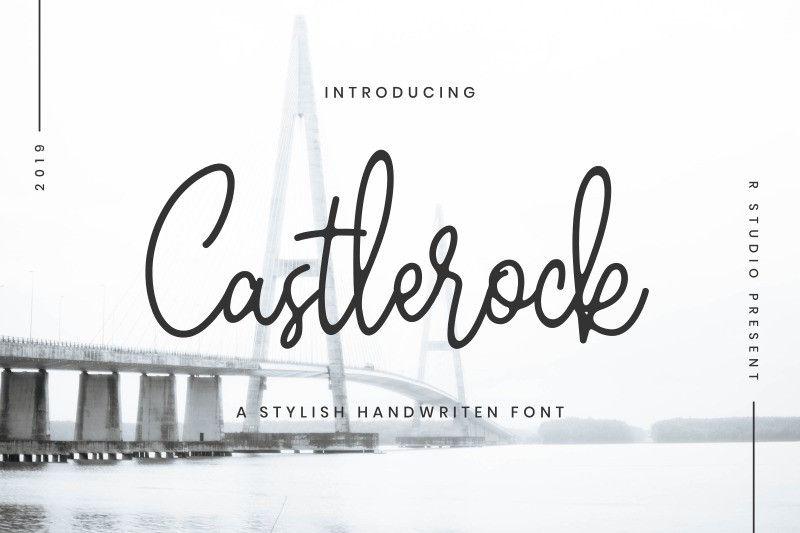 castlerock-font