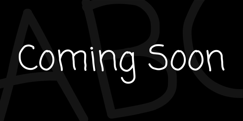 coming-soon-font