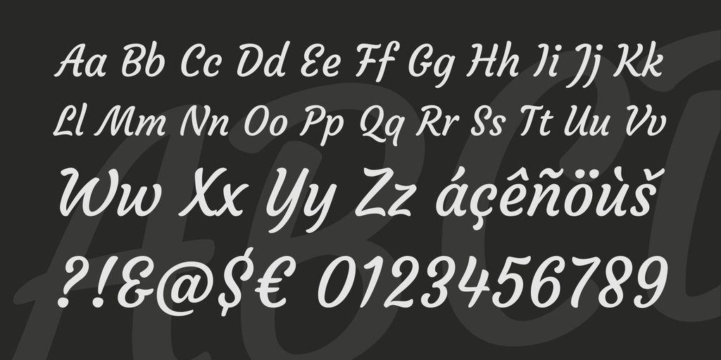 courgette-font-3