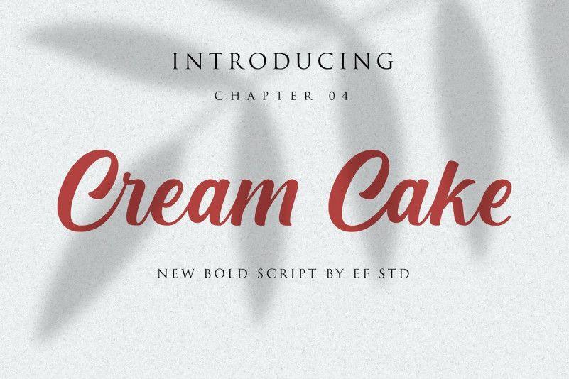 cream-cake-font