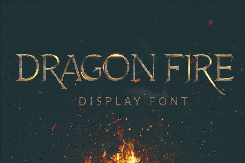 dragon-fire-font