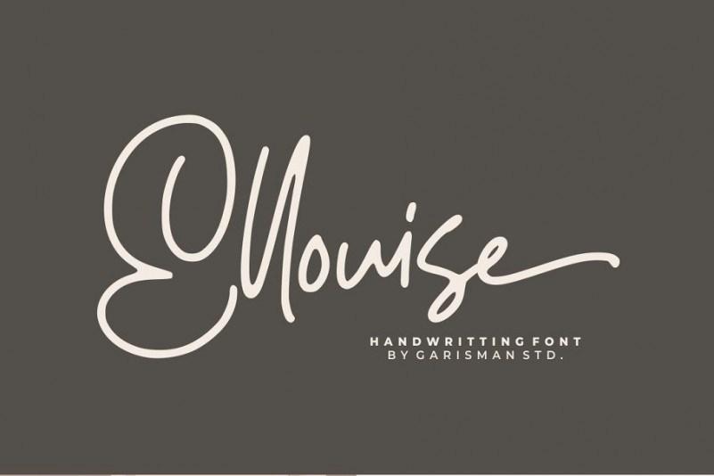 ellouise-script-font