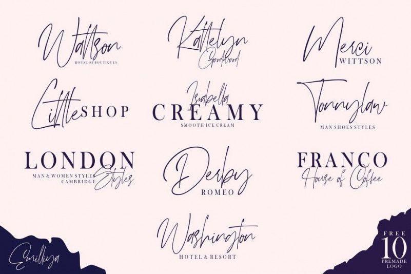 emilliya-signature-font-2
