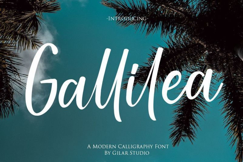 gallilea-font