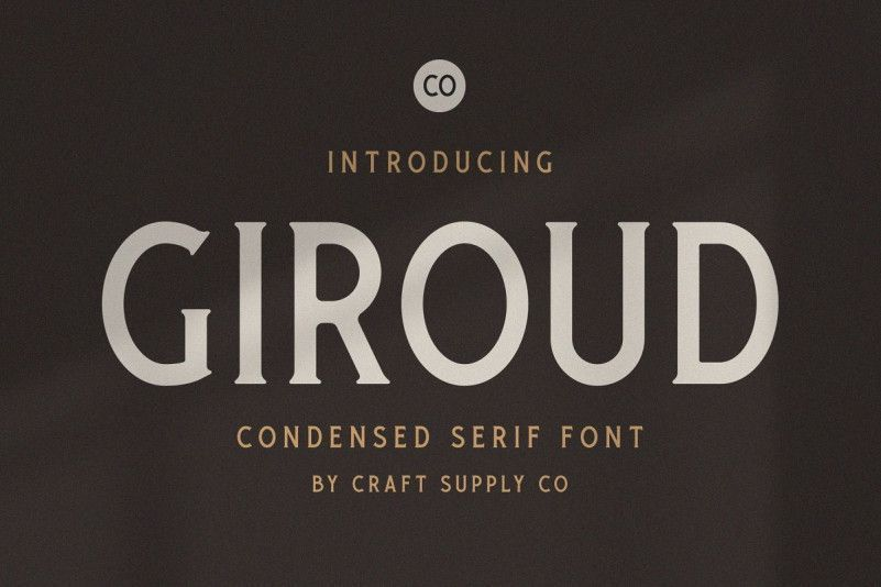 giroud-condensed-serif-font