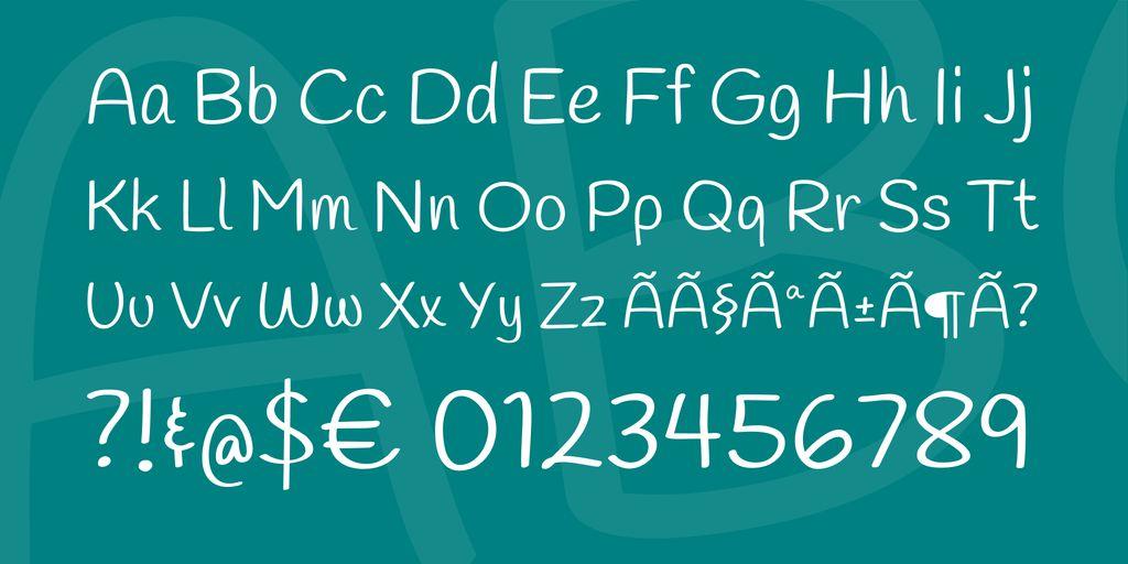 handlee-font-3
