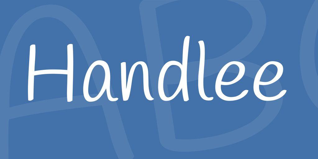 handlee-font