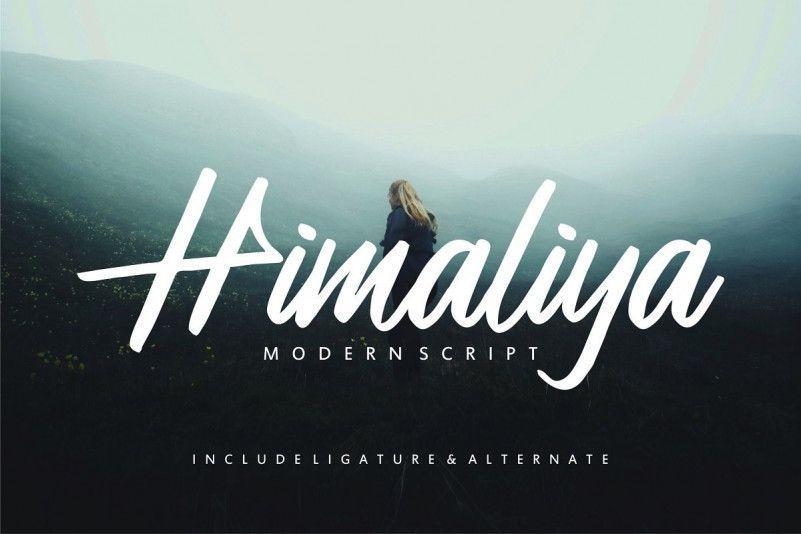 himaliya-script-font