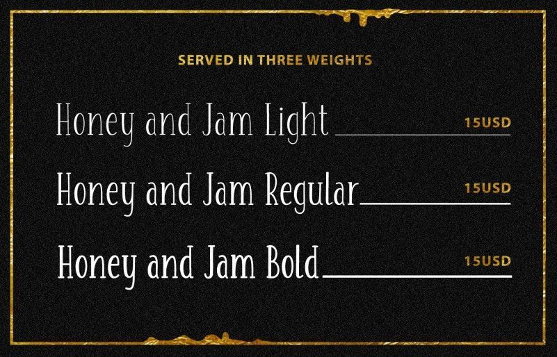 honey-jam-font-family-2