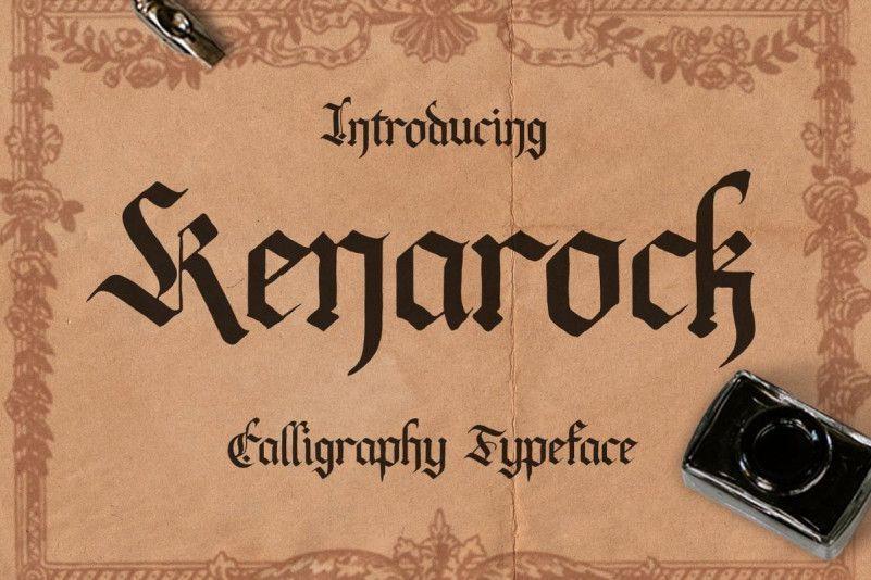 kenarock-font-1