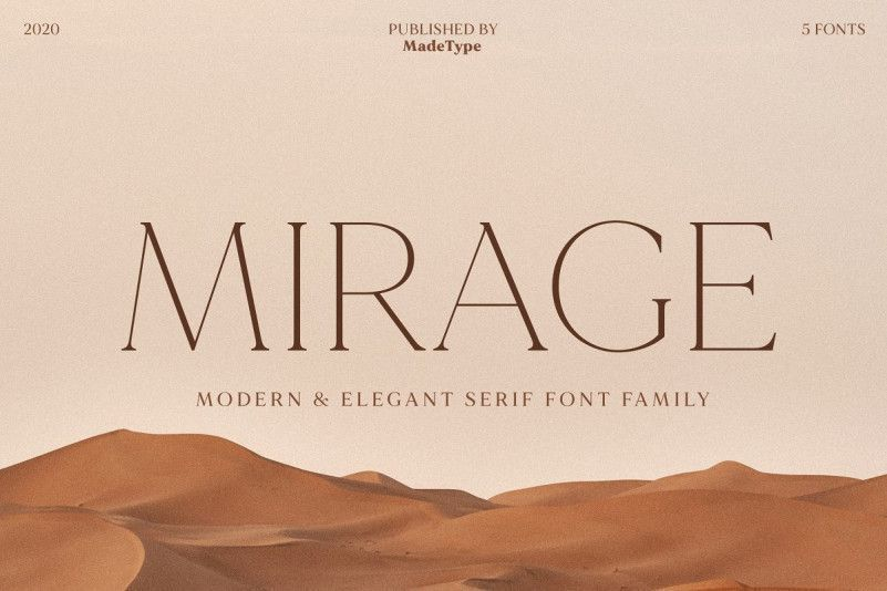 made-mirage-serif-font-family