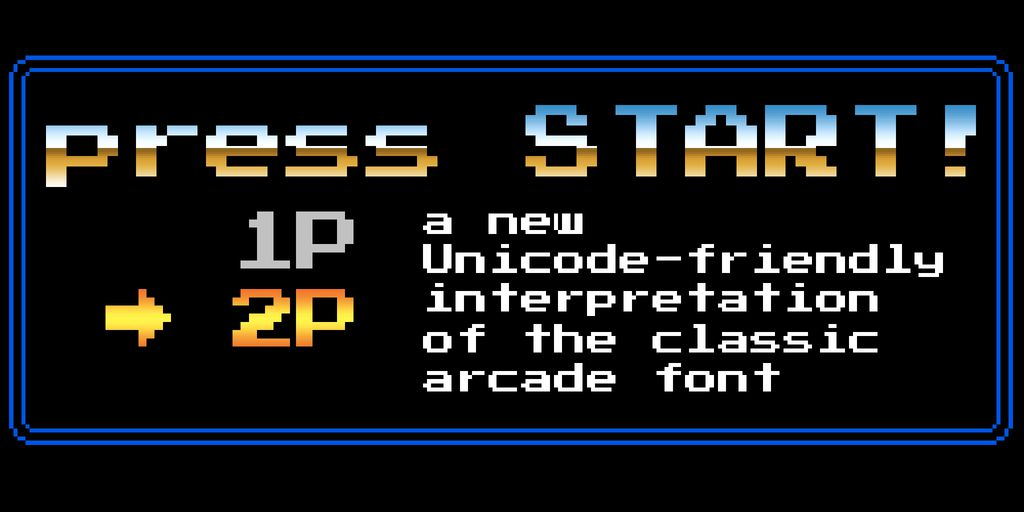 press-start-2p-font