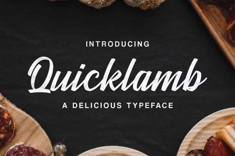 quicklamb-font