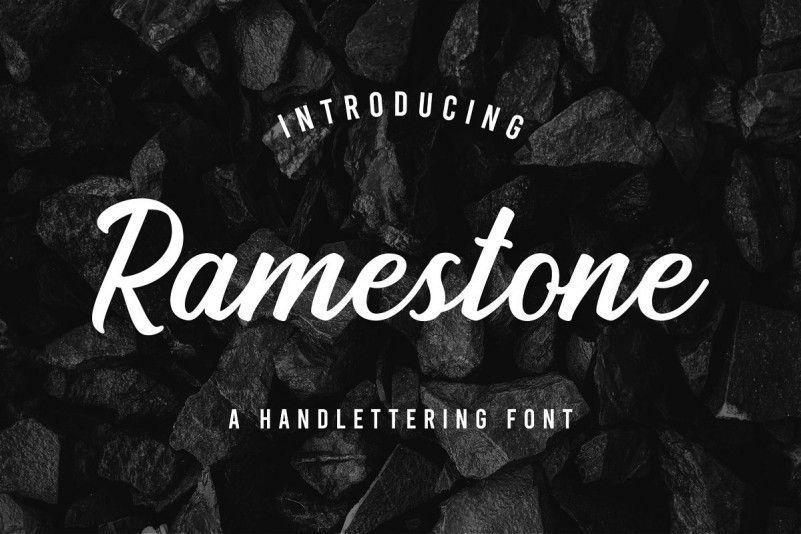 ramestone-font-1