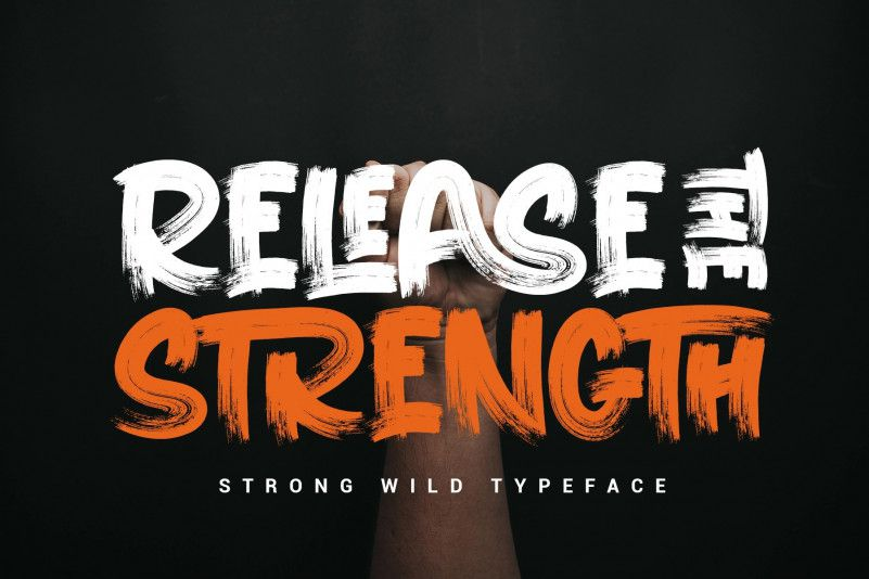 release-the-strength-font