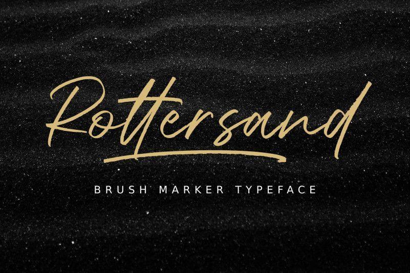 rottersand-font